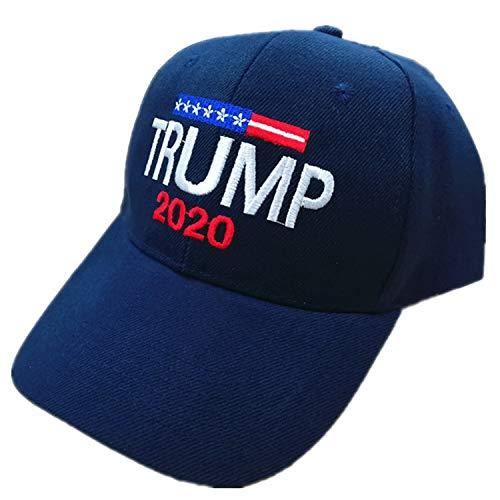 Sumyer MAGA Trumpf Hut, Donald Trump Cap, halten amerikanischen großen Hut Trump 2020 mit Armband (Blue)