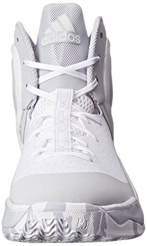 Adidas D Rose 5 Boost Laufschuhe White/Grey/White
