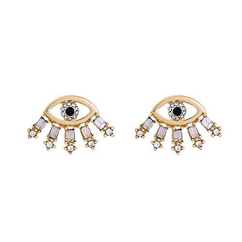 Kostüm Sie Teufel Frauen - Z&HA 925 Silber Ohrnadel Für Frauen Ohrringe Teufel Auge Ohrstecker Ohr Nagel Mode Kostüm Schmuck Ohr Stifte