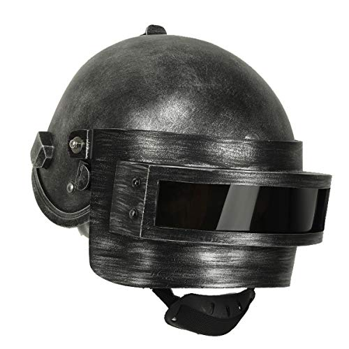 DealTrade Halloween PUBG Helm Cosplay Kostüm Erwachsene Spiel Gewinner Harz Vollkopf Chicken Dinner Maske Replik Fancy Dress Merchandise - Kostüm Gewinner