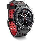 22mm Reloj de pulsera pulsera Strap para Samsung Gear S3Frontier/S3Classic/Gear 2R380Neo sm-r3810zkaxeo Live r382/Motorola Moto 360(2. Generación) 46mm/Pebble Time/LG G Watch W100/W110/Urbane/Fit All 22mm Watch Bands