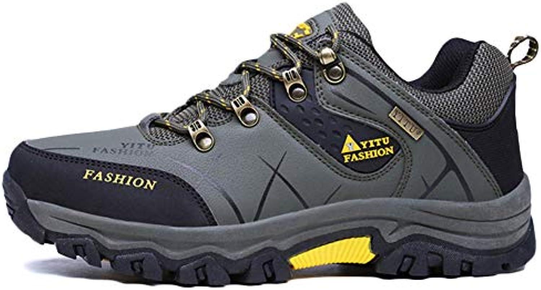 De Gran Tamaño Hombres Escalada Zapatos Para Caminar Antideslizante Trail Outdoor Camping Trekking Shoes Sneaker  -