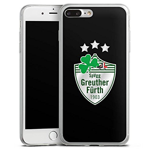 Apple iPhone X Slim Case Silikon Hülle Schutzhülle SpVgg Greuther Fürth Fanartikel Fußball Silikon Slim Case transparent