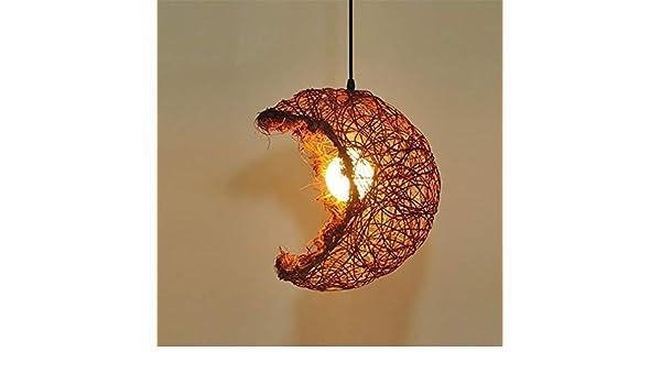 Plafoniere Vimini : Pendente lampadari plafoniera luce beige marrone vimini rattan