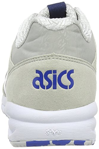 Asics Shaw Runner, Scarpe sportive, Unisex-adulto Light Grey/Strong Blue 1344