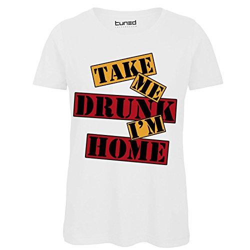 CHEMAGLIETTE T-Shirt Divertente Donna Maglietta con Stampa Addio al Nubilato Bride TribeTuned