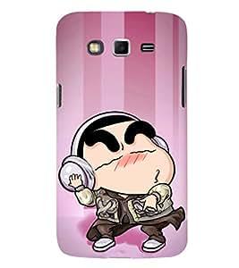 EPICCASE Rockstar Cartoon Mobile Back Case Cover For Samsung Galaxy Grand (Designer Case)