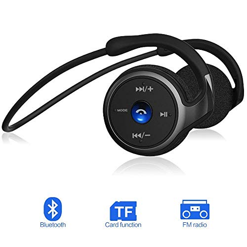 Auriculares Bluetooth 4.1, 3-en 1 Estéreo Auricular Deportivo, Cascos