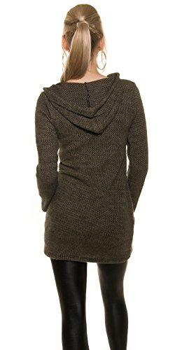 In-Stylefashion - Robe - Femme marron marron taille unique Marron