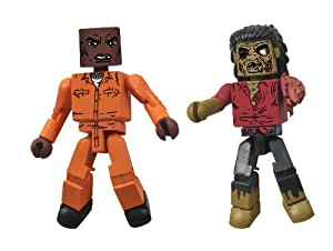 Walking Dead Minimates Series 3 Dexter/ Dreadlock Zombie (Pack of 2)