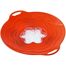 VAPO TWIST01 Tapa de silicona, color naranja 300 mm