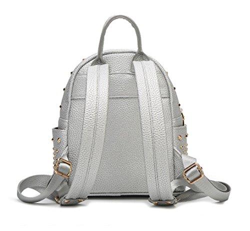 Keshi Pu Niedlich Damen accessories hohe Qualität Einfache Tasche Schultertasche Freizeitrucksack Tasche Rucksäcke Beige