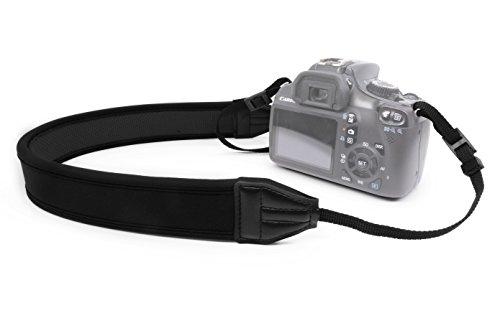 MyGadget Correa Universal para Cámara de Hombro y Cuello - Colgador para Cámaras Compatible con TodosDSLR comoNikon CanonOlympusSonyPanasonic Fujifilm