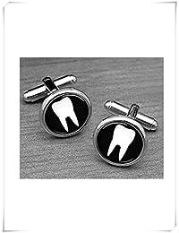 Dientes Gemelos dentista, Gemelos, médico dentista Cuffl tintas