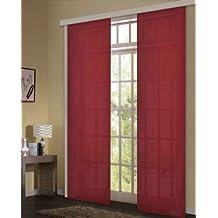 suchergebnis auf f r schiebegardinen rot. Black Bedroom Furniture Sets. Home Design Ideas