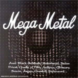 Coffret 4 CD : Mega Metal