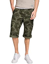 edc by Esprit 046cc2c028-Constructed Printed, Short Homme