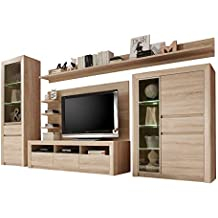 12 Ergebnisse Fur Wohnwand Buche Hell Trendteam Smart Living Wohnzimmer 5 Teilige Set Kombination Sevilla 342 X 200 51