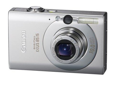 Canon Digital IXUS 85 IS Digitalkamera (10 Megapixel, 3-fach opt. Zoom, 6,4 cm (2,5 Zoll) Display, Bildstabilisator) silber (2.5 10 Mp)