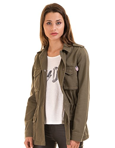 Military khaki parka EEUU by Vila Clothes (S - Khaki fresh)