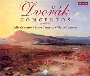 Dvorak - Concerto pour piano op.33 / Concertos pour violon op. 53 & 104