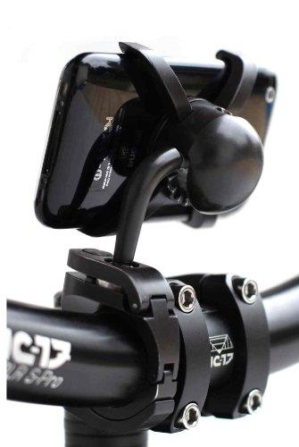 NC-17 connect Lenkerhalterung für Smartphone und Handy / für Apple iPhone 3/3G (verstellbare Fahrradhalterung, geeignet für Down-Hill und Mountainbiking) (Apple Hill)