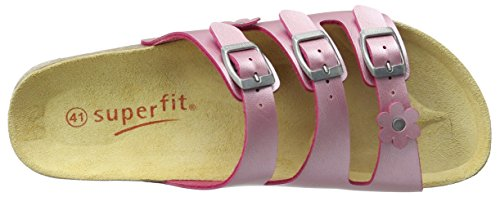 Superfit Fussbettpantoffel, chaussons d'intérieur fille Pink (krokus)