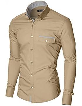 MODERNO Camicia Casual Uomo (MPSF301)