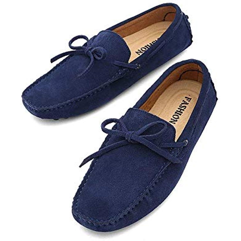 Oudan Chaussures Mocassins pour Hommes, Hommes, Hommes, Mocassins Conduite Homme Mocassins légers à la Botte en Cuir véritable... - B07KG72Q2Y - 9215f5