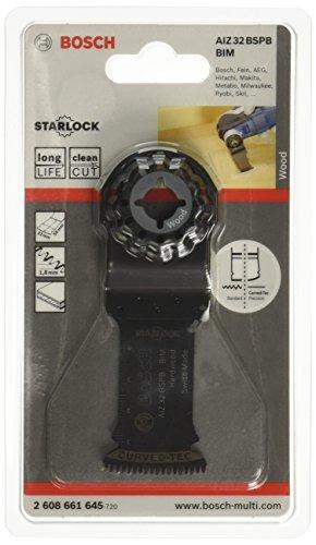 Bosch Professional Tauchsägeblatt Hartholz für Multifunktionswerkzeuge Starlock (AIZ 32 BSPB)