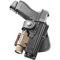 Fobus neu Oberschenkelapater EXND 2 Pistolenhalfter Plattform Passend f/ür alle Fobus Paddle Holster und Einzelmagazintasche