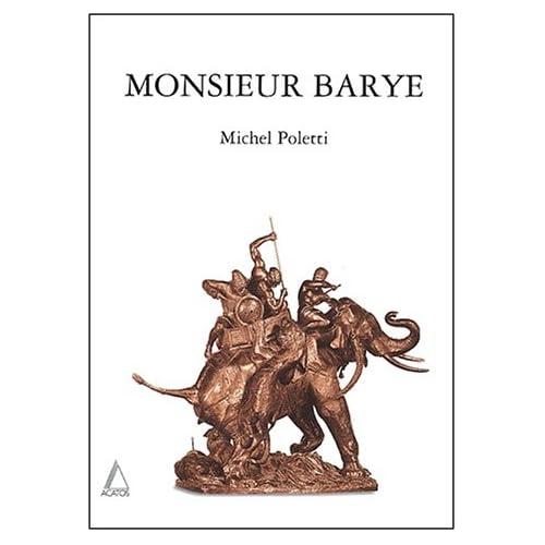 Monsieur Barye