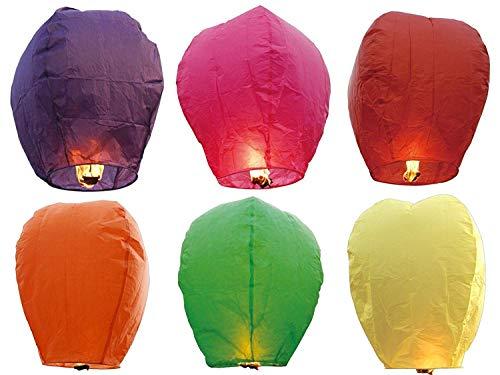 Tiempo de palloncini 5x farol volador para fiestas bodas Eventos Mini globo chino 5piezas