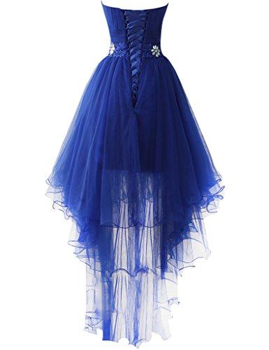 JAEDEN Traegerlos Tuell Lange Ballkleider Abschlussballkleid Festkleid Abendkleid Traube