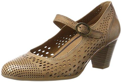 Tamaris 24441, Zapatos Tacón Mujer, Beige Nature