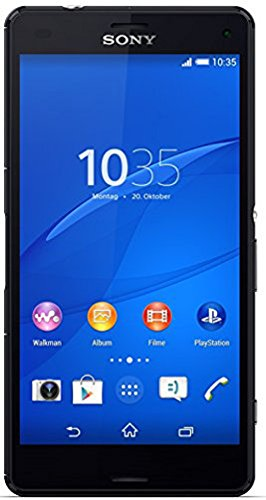 Sony Xperia Z3 Compact LTE Smartphone (11,7 cm (4,6 Zoll) HD-TRILUMINOS-Display, 2,5GHz, 2GB RAM, 20,7 Megapixel Kamera, Android 4.3) schwarz [T-Mobile Branding]
