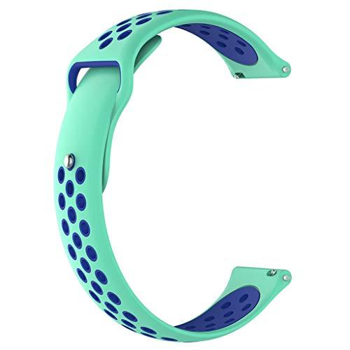 Hengzi Weiche Silikonband Handschlaufe 20mm für Garmin Forerunner 245 / 245M Smart Watch (N) Forerunner Bike Mount