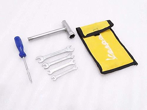 Royal Crusaders VESPA - Juego completo de herramientas en bolsa de color amarillo