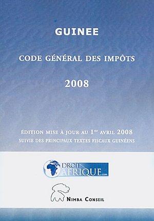 Guinee - Code General des Impots 2008