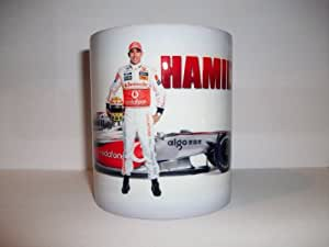 Lewis Hamilton Mug/Tasse Motorsports souvenirs 2