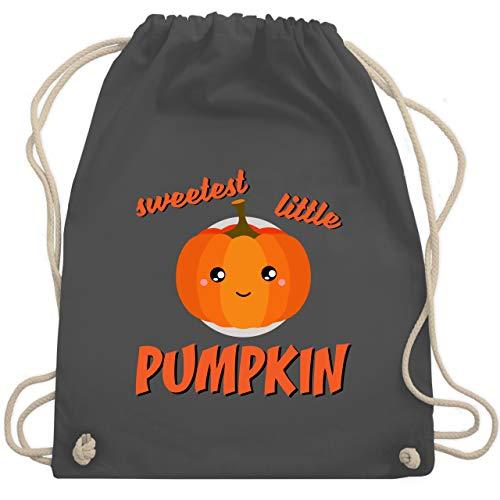 Anlässe Kinder - Sweetest little Pumpkin Halloween - Unisize - Dunkelgrau - WM110 - Turnbeutel & Gym Bag