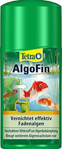 Tetra Pond AlgoFin (zur effektiven und sicheren Vernichtung von hartnäckigen Fadenalgen und anderen Algen im Gartenteich), 250 ml Flasche