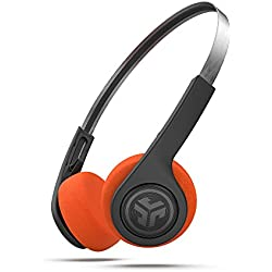 JLab Rewind Wireless Retro on-Ear-Bluetooth-Casque Noir