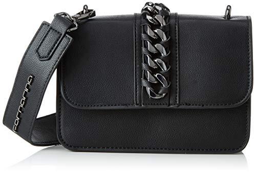 hot sales fc54d 6433b Fornarina Alasia, Women's Top-Handle Bag, Black, 6x15x20 cm (W x H L)