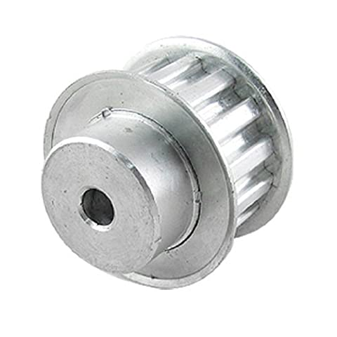 DealMux Double Flange L Type Belt Synchronous 14 Tooth 3/8 Pitch Timing Pulley