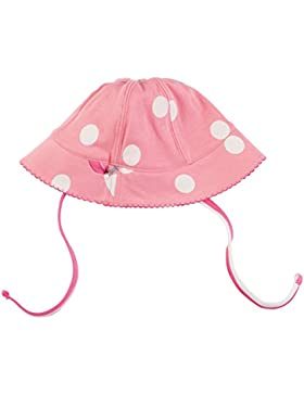 Piccalilly rosado manchado sombrero orgánico del sol del algodón
