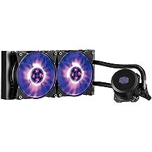 Cooler Master MasterLiquid Lite ML240L RGB - Refrigerador de Líquido para CPU con Bomba de Boble Cámara