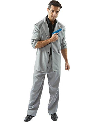 Miami Detective Costume (Black and Grey) - Extra -