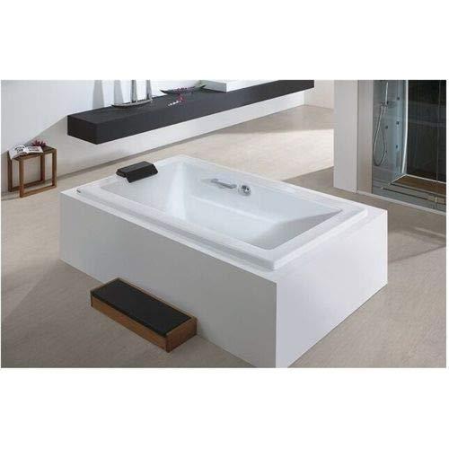 Hoesch SCELTA Acryl-Badewanne Rechteck, 1900 x 800 x 480 mm weiß