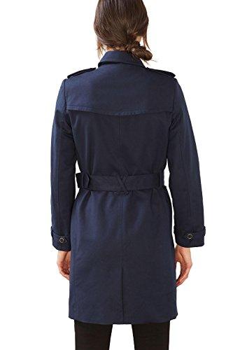 ESPRIT Collection Damen Mantel Blau (Navy 400)